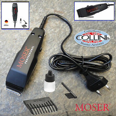 Moser - 1400 Mini professional Corded Trimmer - 1411-0087 - BLACK