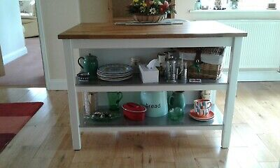 IKEA STENSTORP KITCHEN Island /Breakfast Bar - £137.00 ...