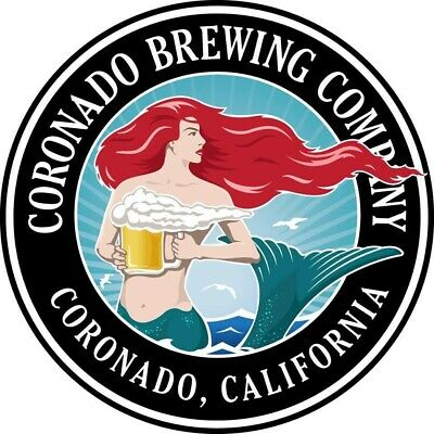 Coronado Brewing Company Sticker decal craft beer Brewery Micro California