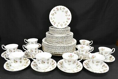 Royal Albert Winsome Set of 10 Five Piece Place Settings (50 Pieces Total)
