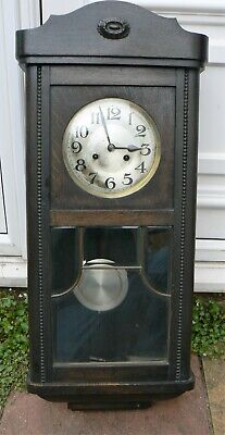 Large Edwardian Wall Clock