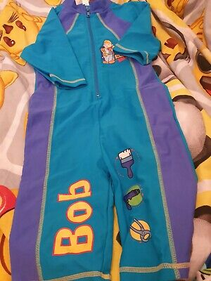 Lovely Boys Bhs bob the builder Swimming Suit Age 5 Years