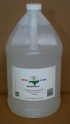Any Size Polyethylene Glycol 300 (PEG 300) USP/Kosher - Food Grade/Concentrates