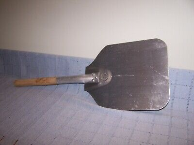 "American Metalcraft Pizza Peel, Aluminum Blade Wood Handle. Blade size 11"" X 9"""