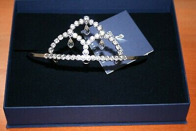 "A Stunning Swarovski Crystal Tiara ""Almira"" In Original Box, Pristine Condition"