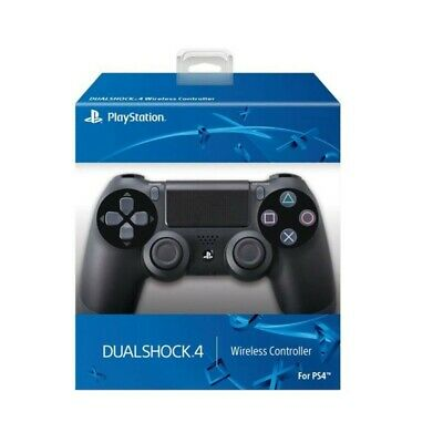DualShock 4 Black Wireless-Controller for Sony PS4 Controller PlayStation 4