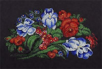 Panna Bead Embroidery Kit - Bouquet Of Irises