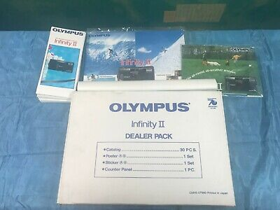 Rare Olympus Infinity Ii Dealer Pack Point And Shoot Film Camera