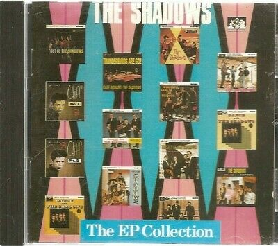 The Shadows The EP Collection CD 1990 Made In France 22 Tracks