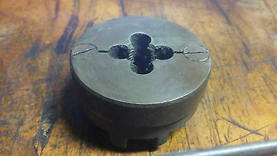 "Whitworth BSW 3/4"" x 10 LH Split Die Button OD 2 3/16"" with threading Guide, P&N"