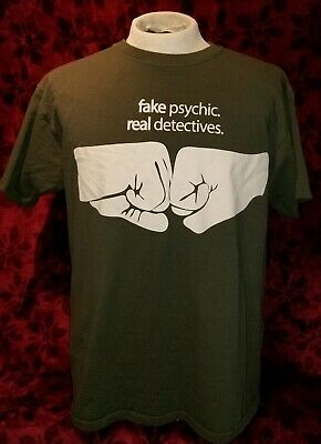 Real Detectives Psych TV Show TITLE Fake Psychic Licensed Sweatshirt S-3XL