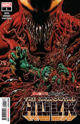 Absolute Carnage: Immortal Hulk #1 - Kyle Hotz Main Cover - Marvel Comics/2019