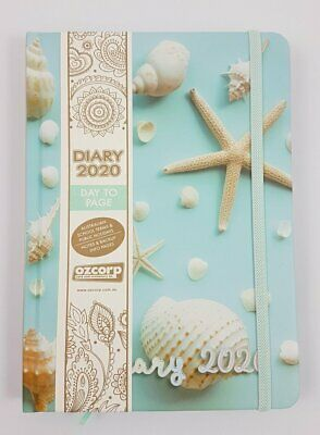 Diary 2020 Ozcorp A5 Day to Page Shells D441