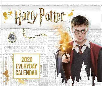 2020 Calendar Harry Potter Official Day-to-Day Boxed Desk Calendar by Danilo