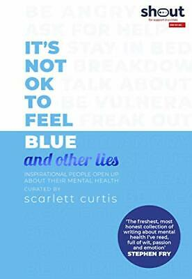 It's Not OK to Feel Blue (and other lies): Inspirational  New Hardcover Book