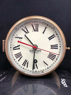 """Smiths """"Astral"""" Bulhead Clock - Solid Brass - Keeping Time"""