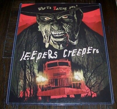 Jeepers Creepers Jonathan Breck 11X14 Alternative Movie Poster