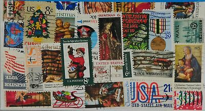USA 25 Stamps (Large format) (L327)