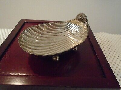 Tane Mexico 925 Footed Shell Dish 64 Grams
