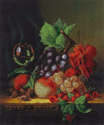 Panna Bead Embroidery Kit - Still Life With Fruits