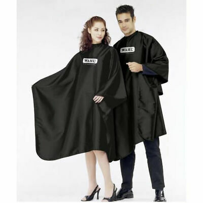 Wahl Black Barbers/Salon Cutting Cape/Gown *Sealed* *New*Uk