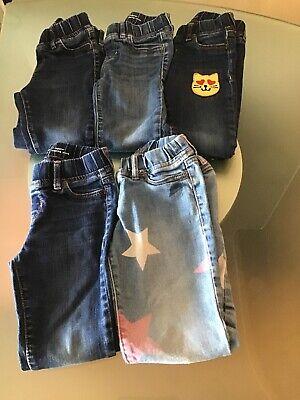 Gap Girls Legging Jeans Size 7 5 Pairs Used Jeans