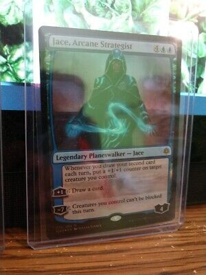 Arcane Strategist FOIL War of the Spark HEAVILY PLD CARD ABUGames Jace