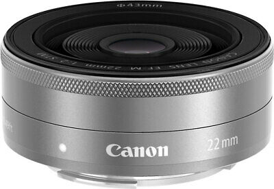 Canon EF-M 22mm F/2.0 STM Lens for Canon M