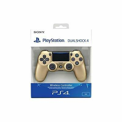 Sony Dualshock 4 Wireless Controller for PS4 -Gold *Includes Charger