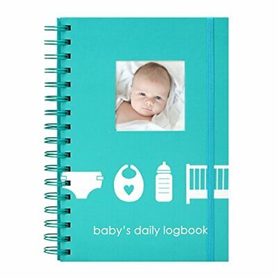 Pearhead Baby's Daily Log Book, 50 Easy to Fill Pages to Track and Monitor Your