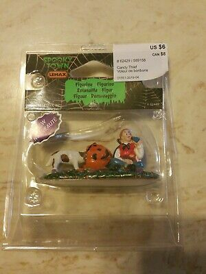 CANDY THIEF FIGURE #62429 LEMAX SPOOKY TOWN HALLOWEEN VILLAGE ACCESSORIES