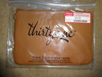 Thirty-One Thirtyone 31 Gifts Rubie Mini - Brand New - Caramel Charm Pebble