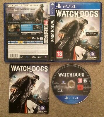 Watch Dogs (Sony PlayStation 4, PS4)