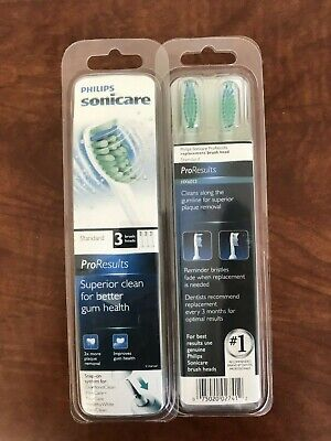 6X Philips Sonicare ProResults HX6013 Replacement Toothbrush Brush Heads (6pack)