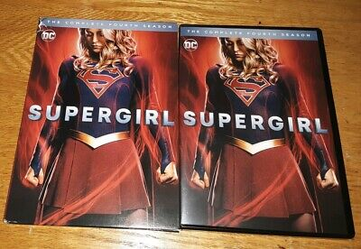 Supergirl Complete Season 4Th Four (Dvd)