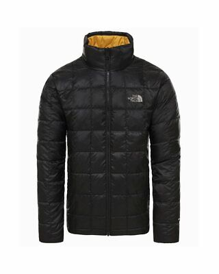- The North Face Kabru Giacca Piumino Uomo, TNF Black/Gold