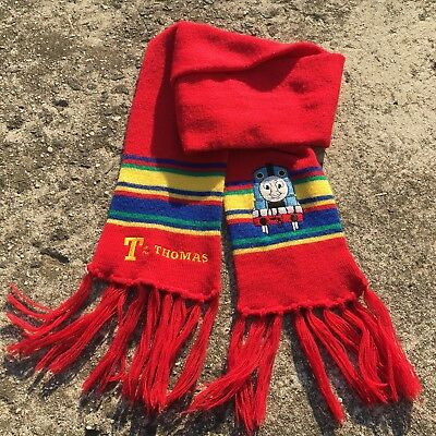 """THOMAS THE TANK ENGINE """"Red"""" Fashion Children's Warm Knitted Neck Scarf"""