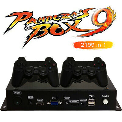 2199 in 1 Home Video Game Joystick Console Arcade Game Box TV Computer Projector