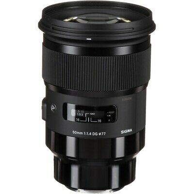 Sigma 50mm F1.4 DG HSM Art Lens - Sony FE Fit