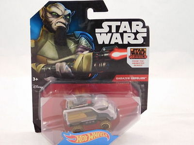 2015 STAR WARS Rebels Hot Wheels #12 THE INQUISITOR✰Black//White//Red Die-cast