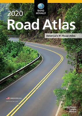 Rand McNally 2020 Road AtlasThis updated 2020 edition contains maps of every U.S