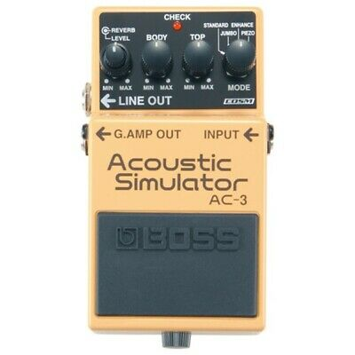 Boss AC-3 Acoustic Simulator Compact Guitar Effects Pedal