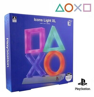 Lampada Ufficiale Sony Playstation Icons Xl Light Led Ps4 Multicolor Paladone