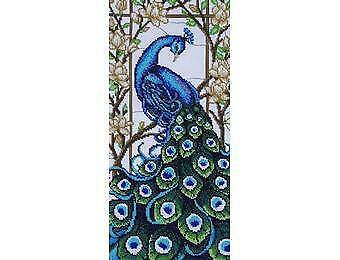 VDV Bead Embroidery Kit - Fairytales of the East - Peacock
