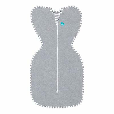 Love To Dream Swaddle UP, Gray, Small, 7-13 lbs, Dramatically Better Sleep,
