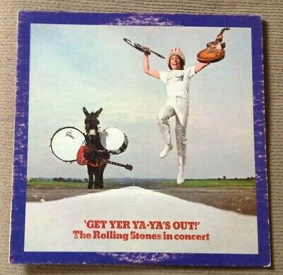 1970 THE ROLLING STONES Get Yer Ya-Ya's Out! Live LP London NPS-5