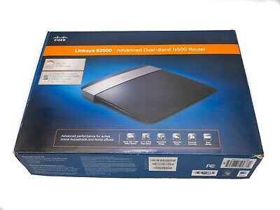 LINKSYS E2500 ADVANCED Dual Band N600 Wireless N Router