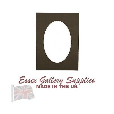 Bespoke Round/Oval Photo Mounts - Cut to Any Size (Max outside size 20x16)