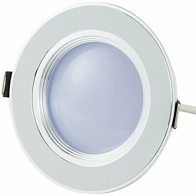 Bloomwin Spot LED Encastrable, Dimmable Plafonnier Rond Plat 5W 500lm Blanc