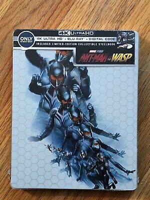 Ant-Man & the Wasp (4K/Blu-Ray) Best Buy Exclusive Steelbook Brand New
